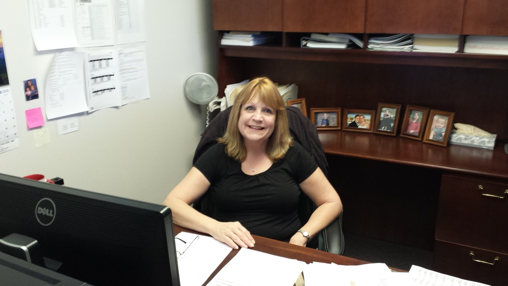 Purchasing Manager Cindy Bybee