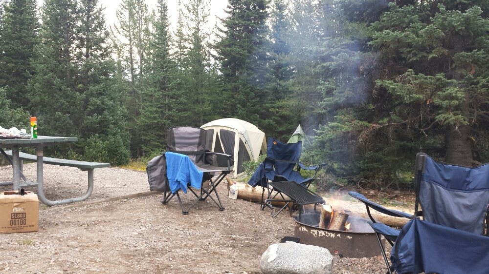 Home Sweet Home: Life in Colter Bay Campground in Grand Teton National Park in northwestern Wyoming.
