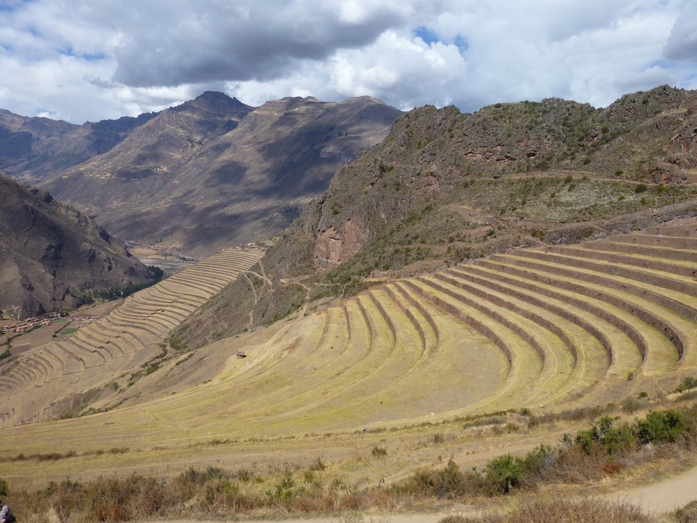 Terraces were used by Inca farmers throughout their empire to control erosion and increase surface area. Many terraces near Machu Picchu have been reconstructed.