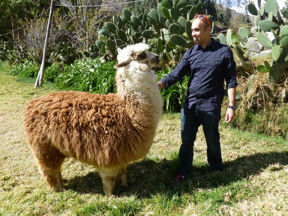 A photo essay series on the new UCEC blog gave a glimpse into our team's passions and hobbies. Here, Operations Support Manager Zach Fothergill meets a new friend in Peru.