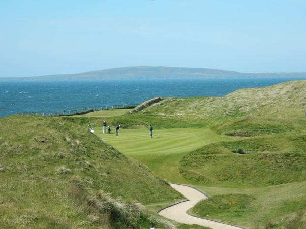 "Ballybunion, Old Course, Hole # 15 ""Black Rocks"" - Ballybunion, Ireland"