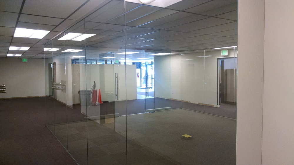 View of new conference room