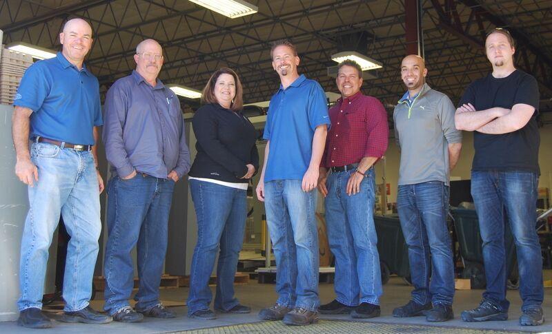 Pictured from Left: Mark Inboden, Terry Engledow, Paula Zangari, Evan Coulter, John Beattie, Zach Fothergill, Garrod Massey.