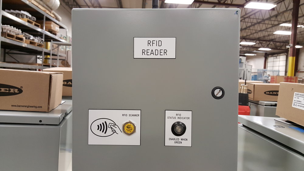 Focus on Safety: A new RFID-enabled panel