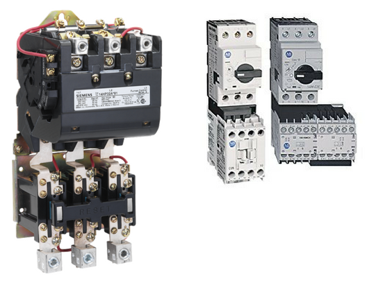 Control Panel Starters: Safety and Size differences over the years