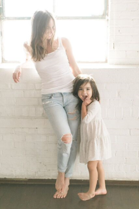 christina loucks and mila by haley shefield