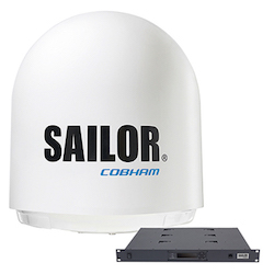 Антенна Sailor 900 VSAT без упаковки (ACU & ADU)