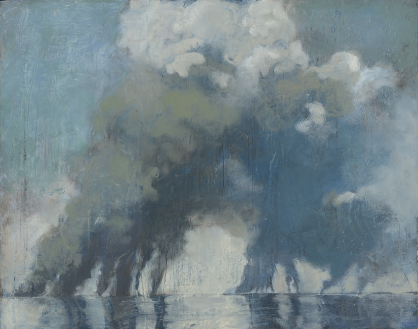 Ocean of Storms,  2012  oil on canvas, 16 x 20 inches