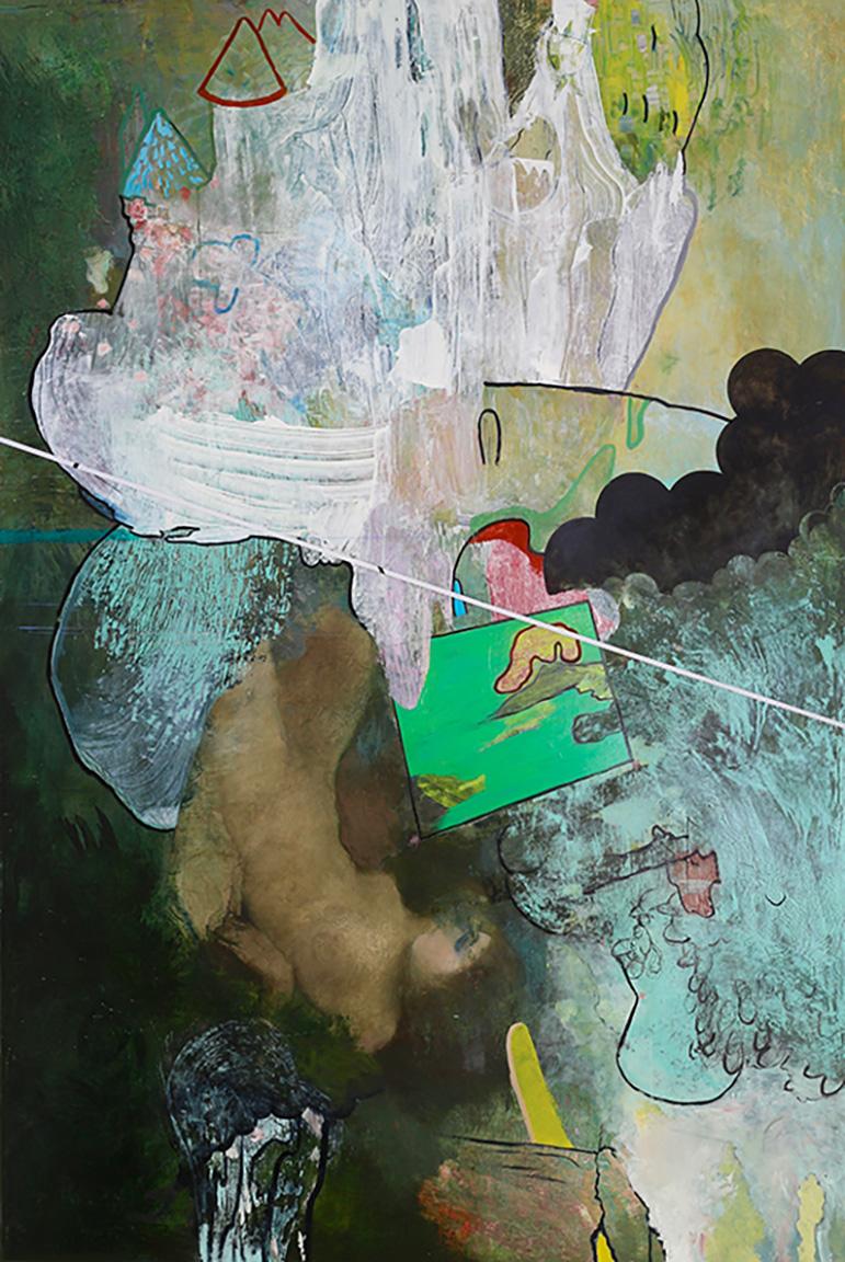 """Heat Miser, 2016, oil on canvas, 94"""" x 64"""""""
