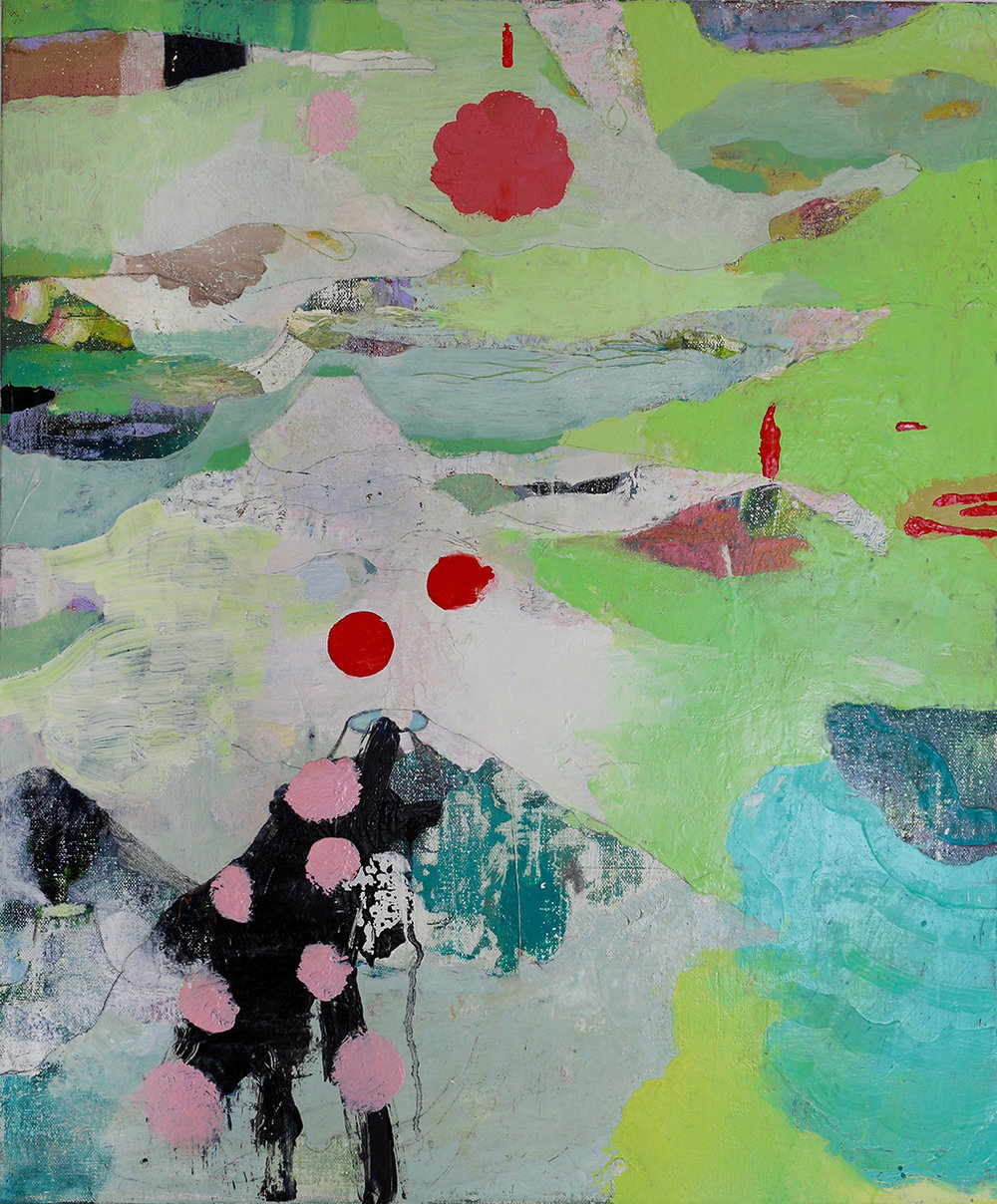 """Fukushima 2, 2016, oil on canvas, 30"""" x 20"""""""