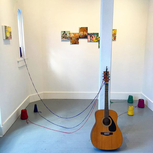 If you happen to stop by to see the last day of Playing Fields at LDg in Stockbridge, the space is in transition for its next incarnation. Feel free to drop by while a new idea unfolds... hours: 9 - 5 Wednesday, 3/6/19 37 main st. #drawingwithsound #painting #lastdayofshow