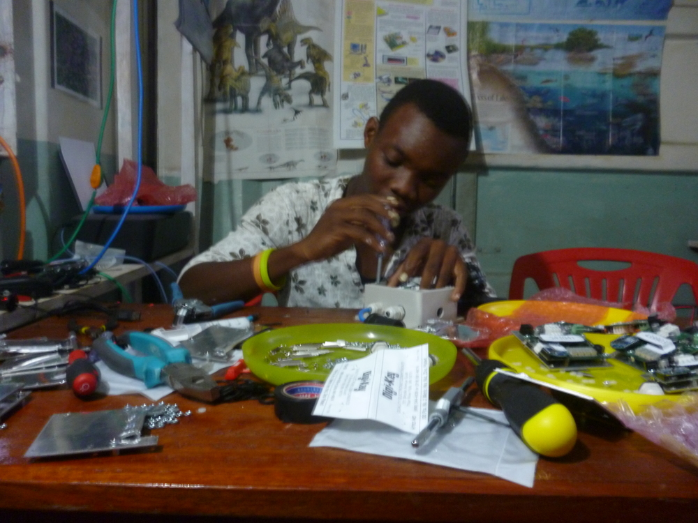 Assembling Devergy meters