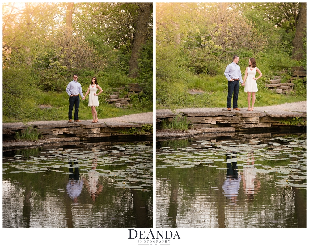 South Pond Engagement Photo