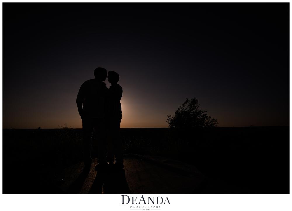 same sex engagement photo