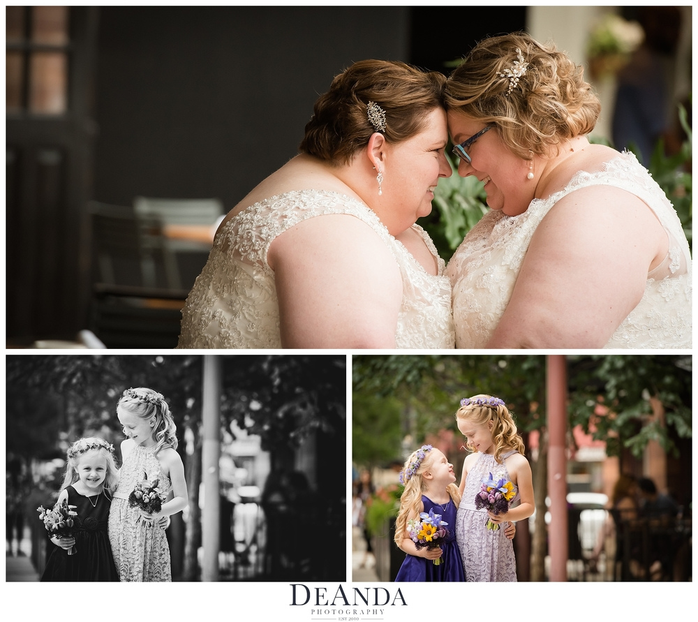 same sex wedding photos