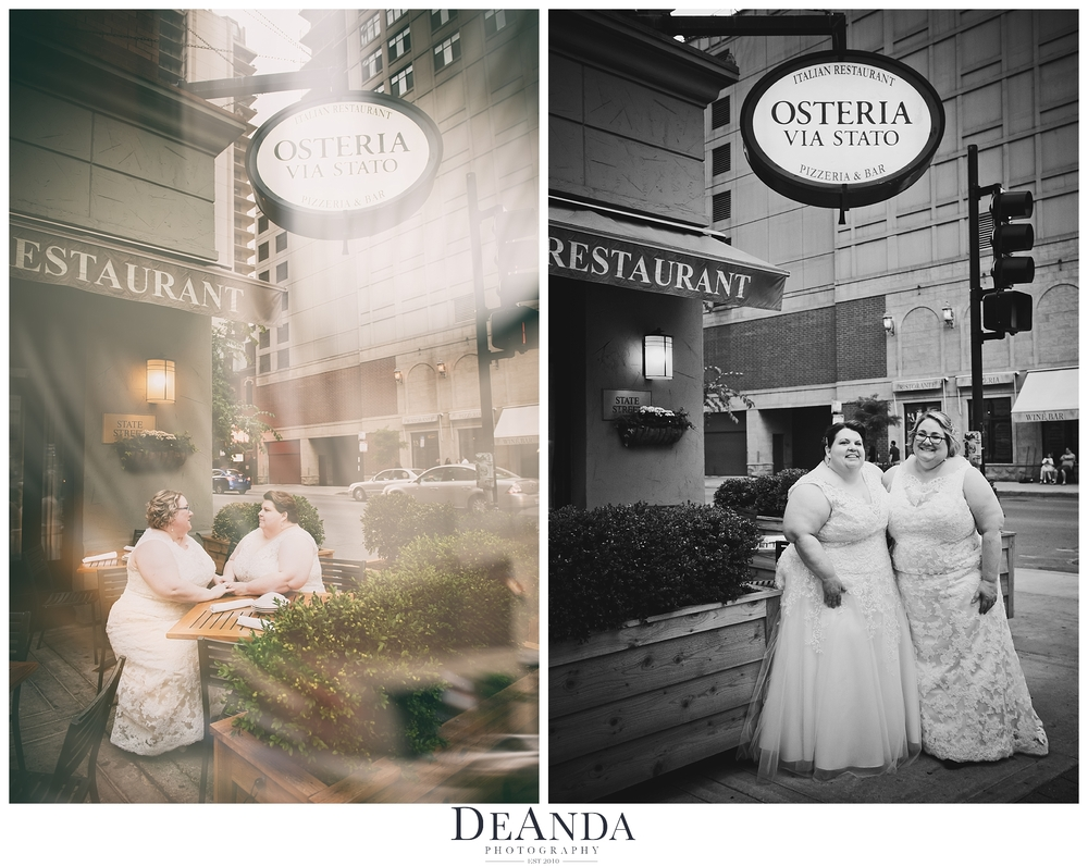 Osteria Via Stato Wedding Images
