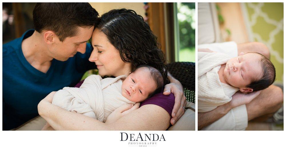 Lifestyle Newborn Family Image