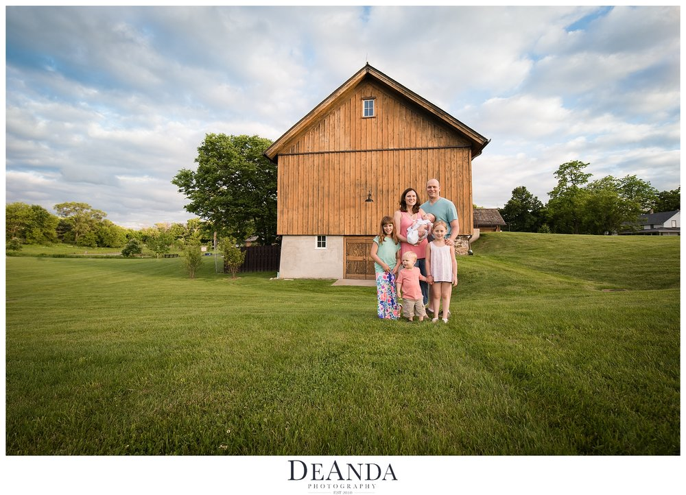 Vehe Barn Family Photo
