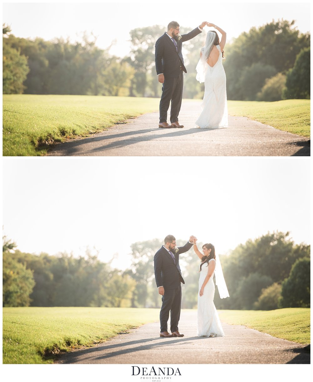 silver lake country club orland park wedding photos