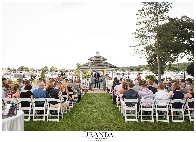 the abbey resort wedding in lake geneva wisconsin of brett and