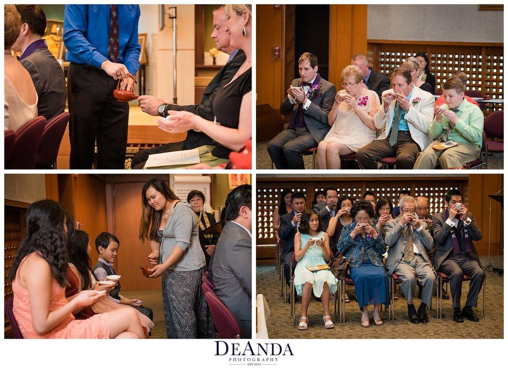Shinnyo-En Chicago same sex wedding ceremony tea ceremony