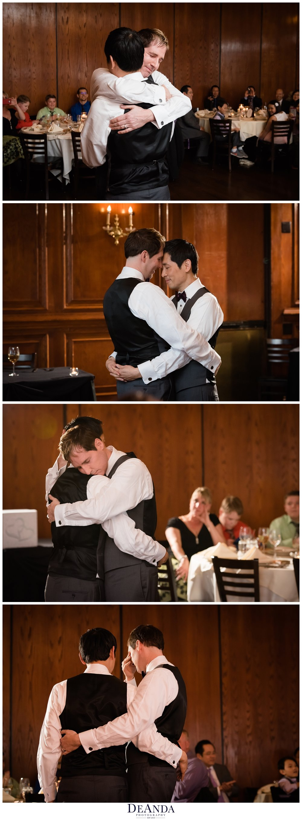Maggianos schaumberg first dance of two grooms