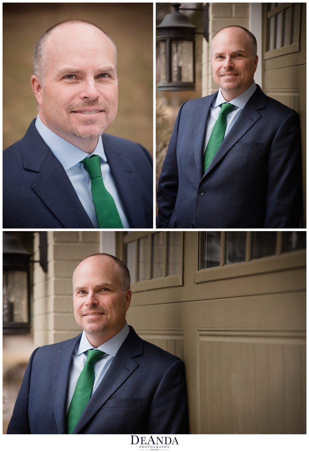 professional head shots of man