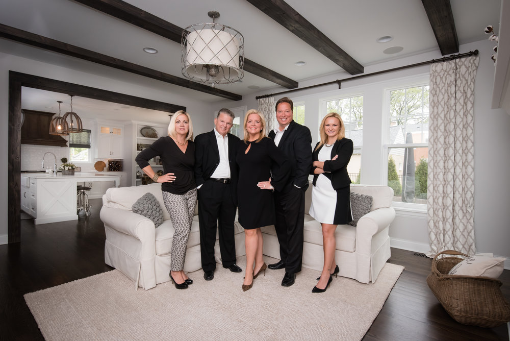 Real Estate Team Group Photo Elmhurst Illinios