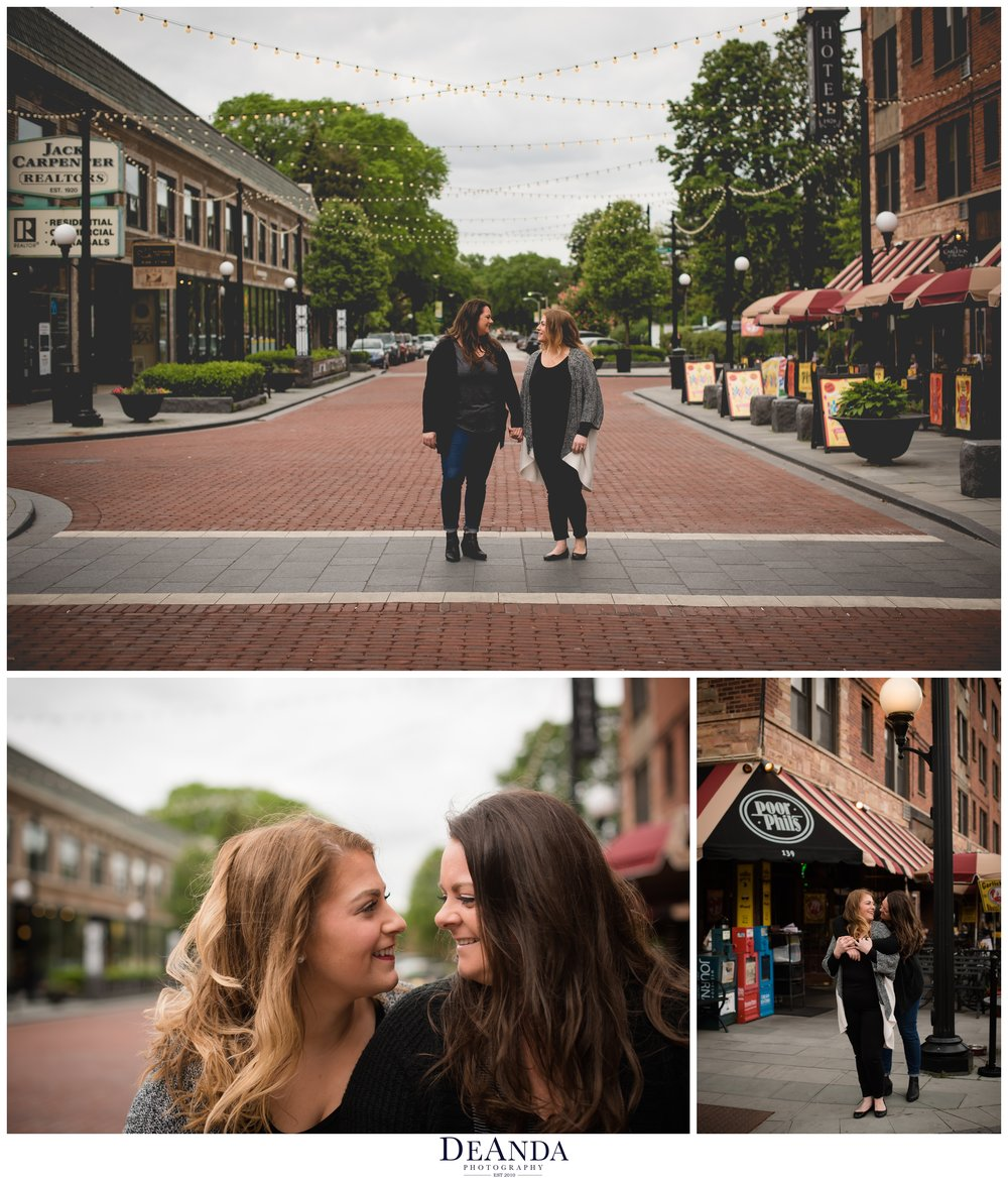 Downtown Oak Park Engagement Session