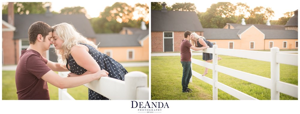st.james farm engagement pictures