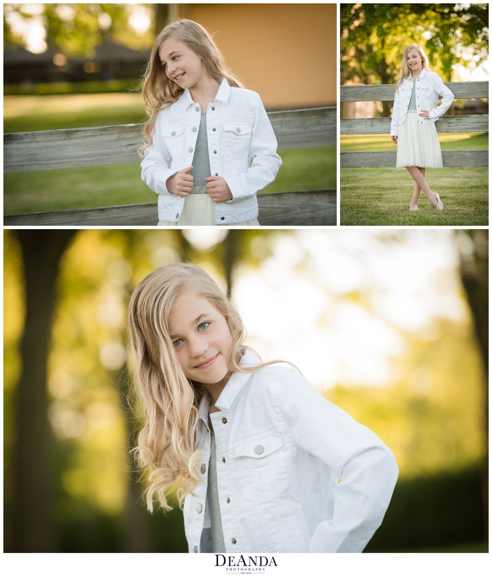 tween photo session chicago suburbs