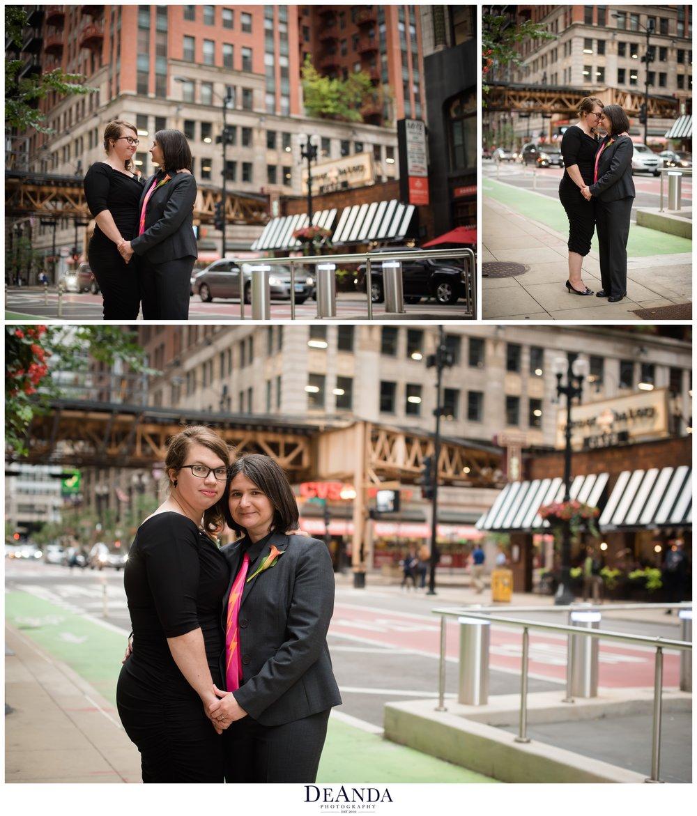 chicago brides on wedding day