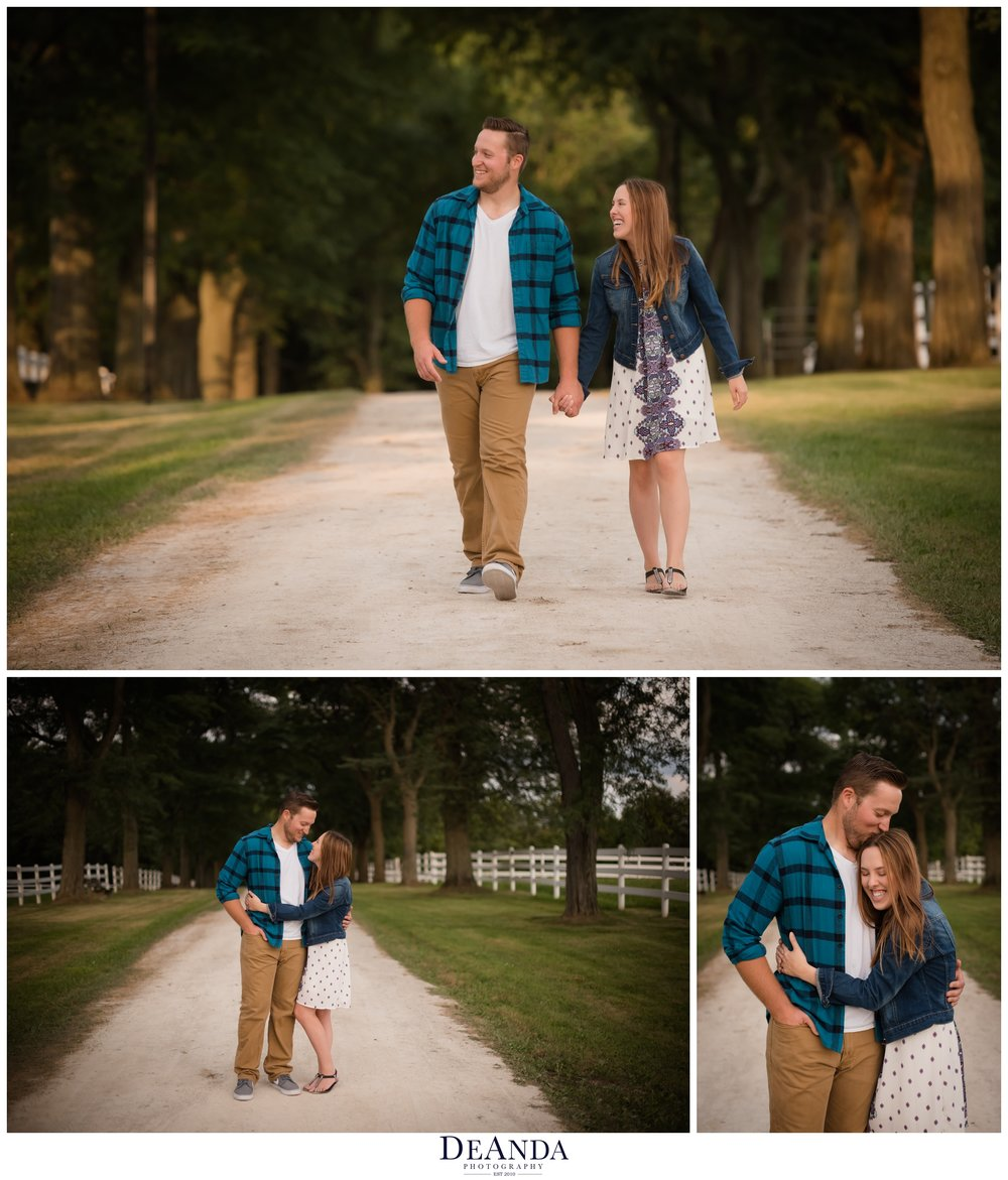 st.james farm engagement photos