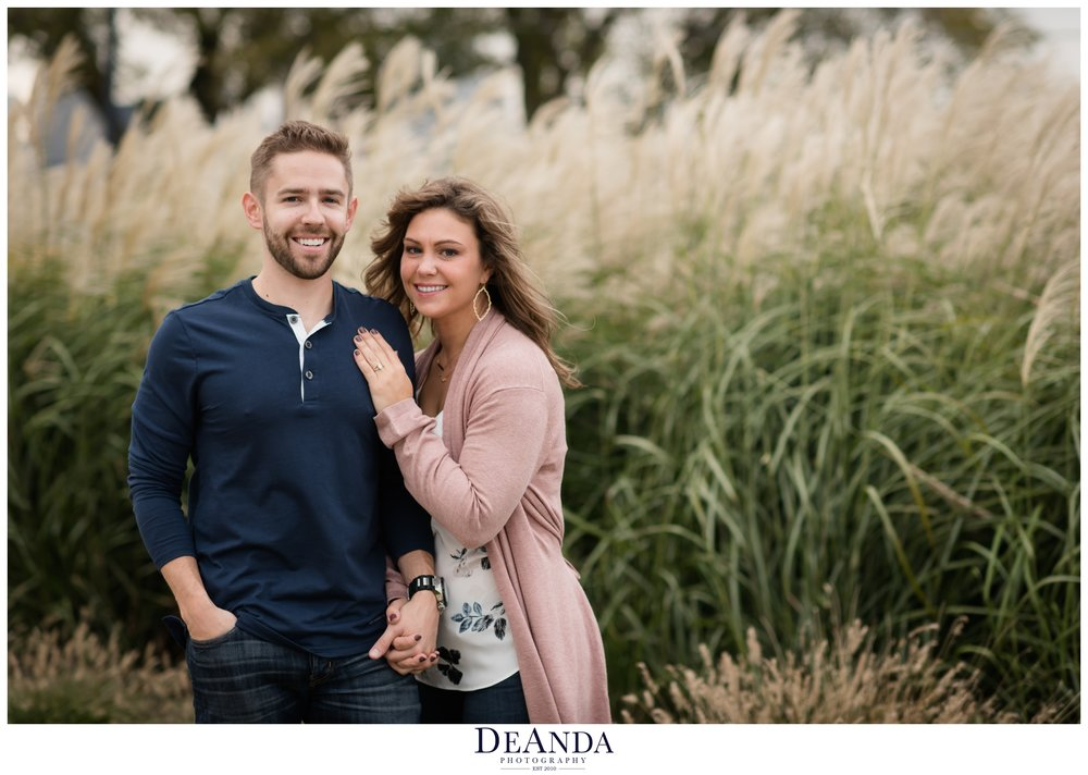 chicago engagement session photo