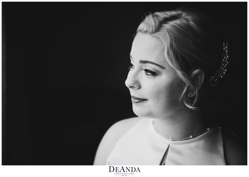 bridal portrait at Pheasant Run Resort in St.Charles Illinois