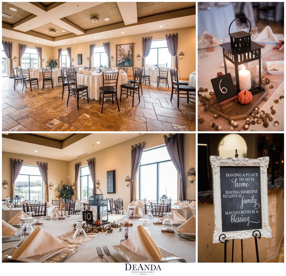 acquaviva winery maple park wedding reception