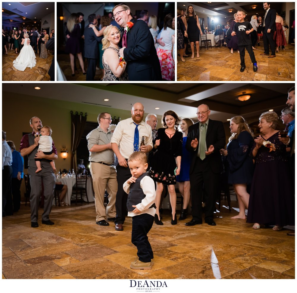 reception dancing at acquaviva winery in maple park
