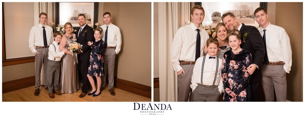 posed family formal photos at Tree Studios Chicago