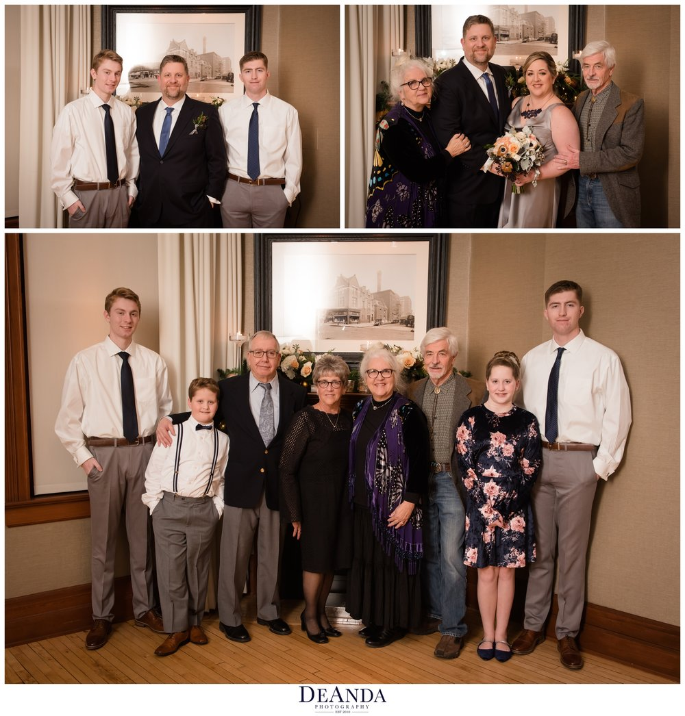 family formal photos at Tree Studios Chicago