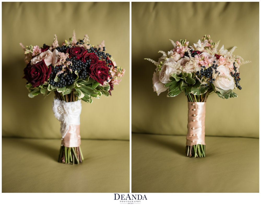 same sex wedding bouquets