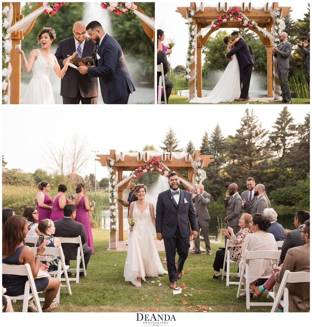 Villa Olivia Summer Wedding Photos