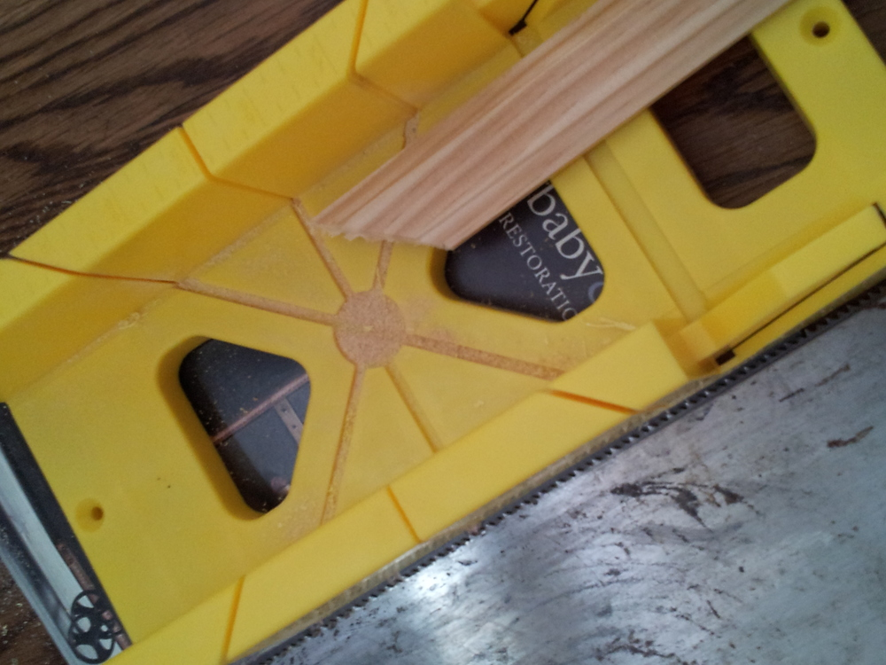 EB Loves Old Houses | DIY Door Trim for Plain Doors