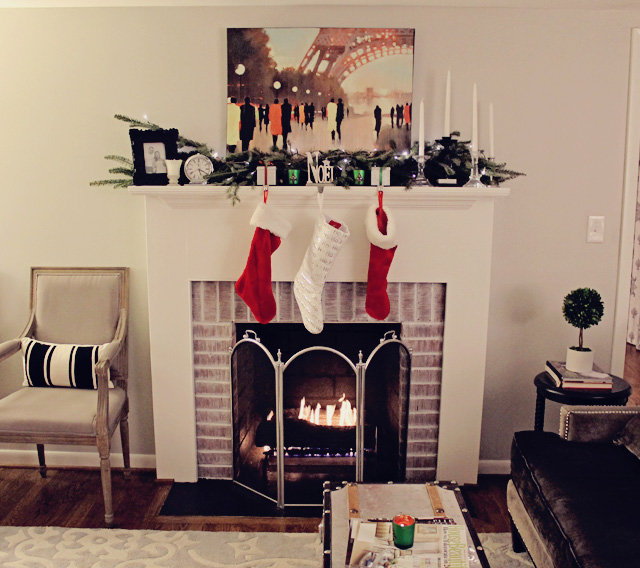 EB Loves Old Houses | Simple Christmas Decor