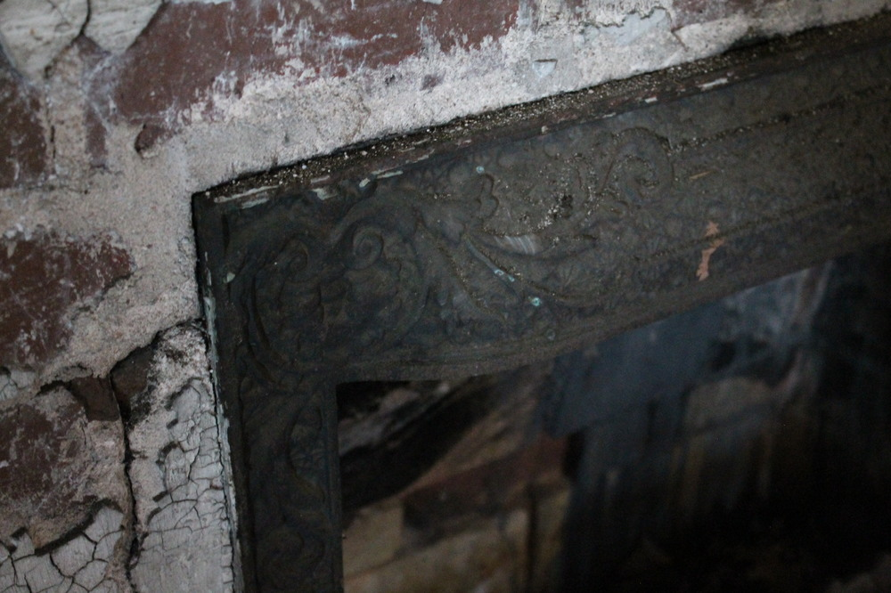 EB Loves Old Houses | Vintage Fireplace Insert