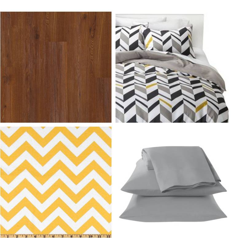 EB Loves Old Houses | Camper Inspiration - Yellow and Gray Chevron
