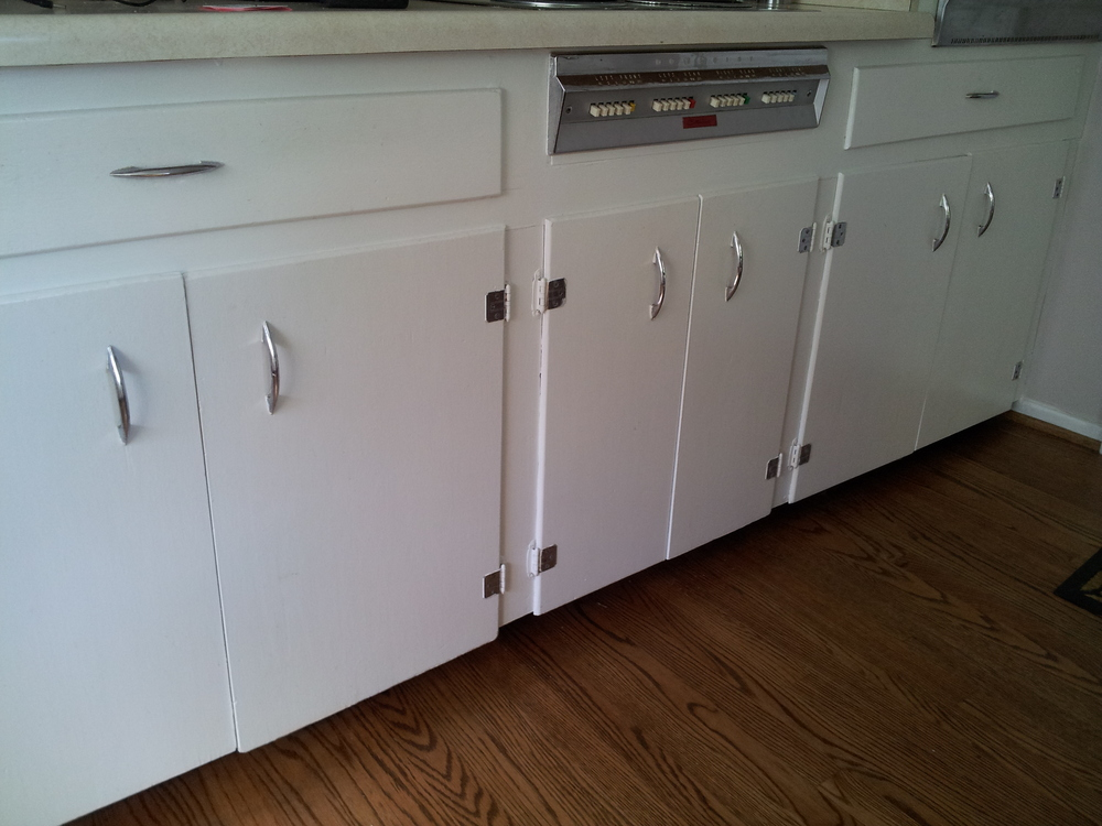 Kitchen Cabinets Makeover | Brooklyn House — Elizabeth Burns ...