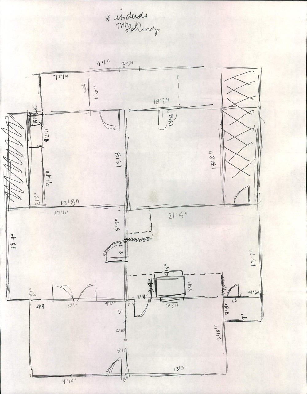 EB Loves Old Houses | Myrtle House Floor Plan