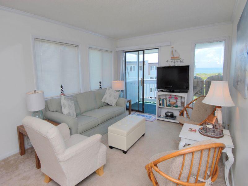 Living Room Sea Spray Condo Elizabeth Burns Design Raleigh Nc Interior Designer