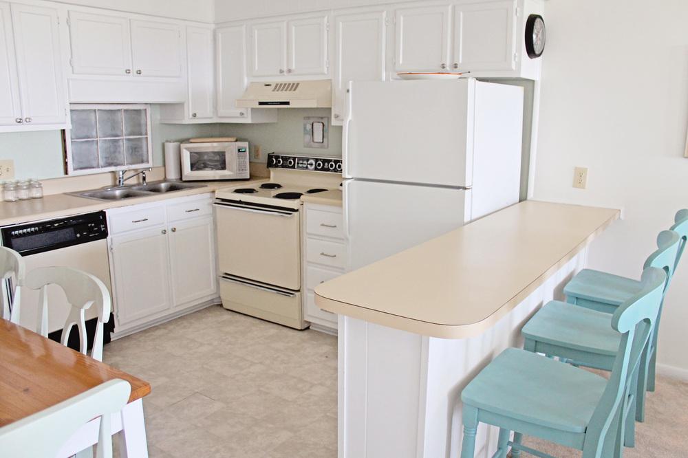 Kitchen Before And After Sea Spray Condo Elizabeth