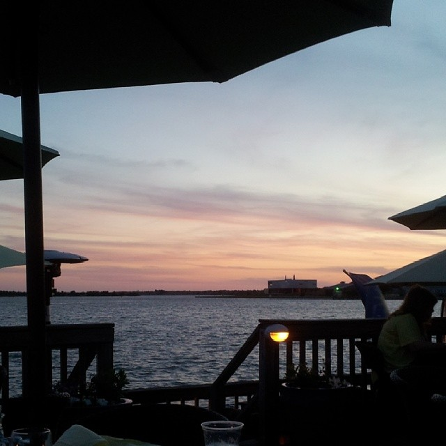 Sunset dinner in Beaufort